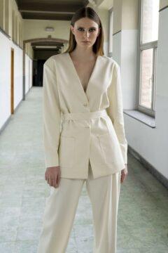 blazer anna off-white